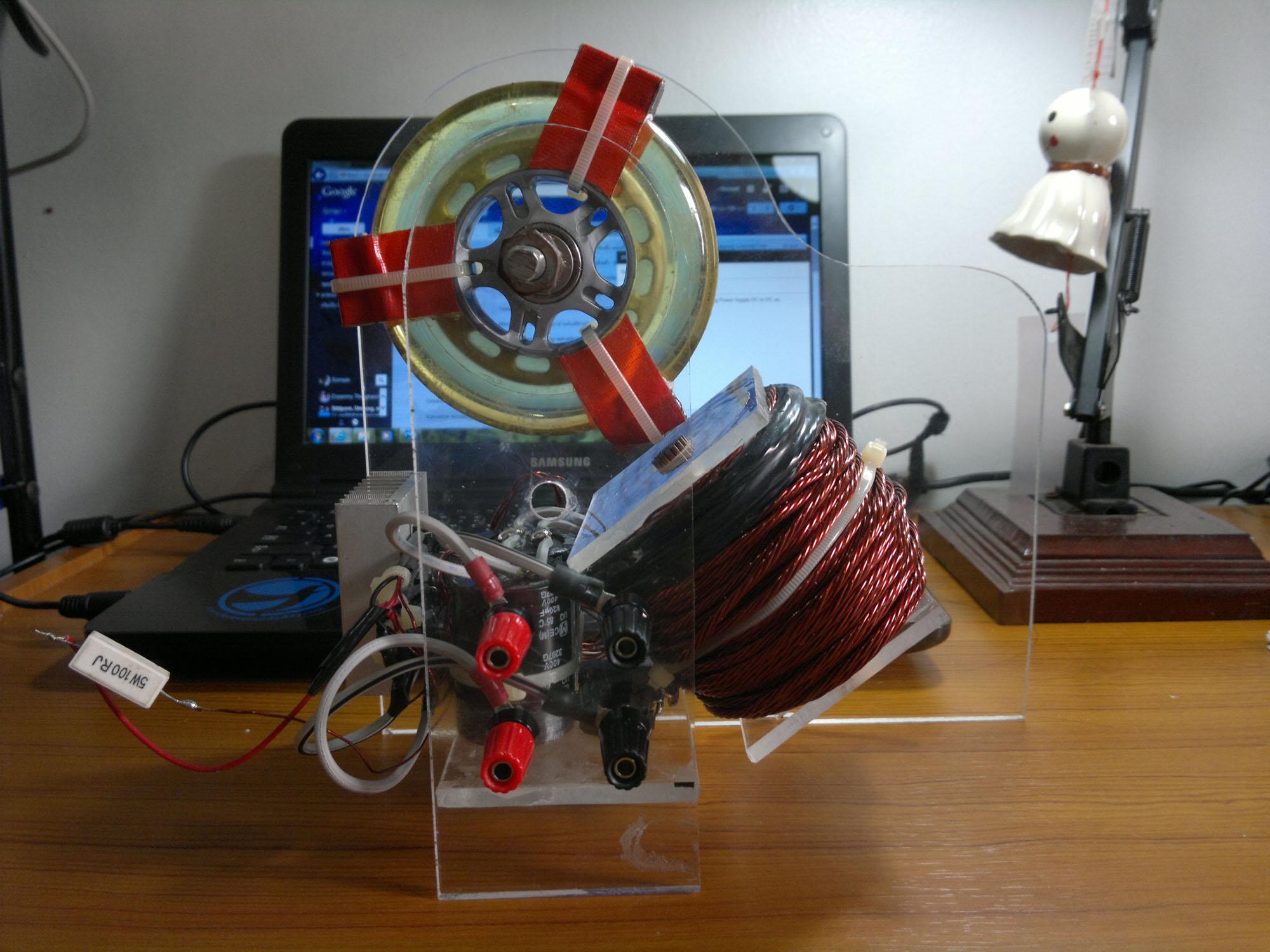 Bedini Motor – Somsak Elect